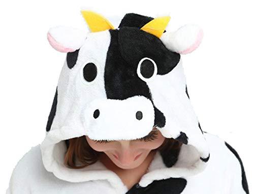 (LONGTEN Adult Animal Pajamas Halloween Christmas Cosplay Costume Onesies Homewear Nightclothes Sleepwear for Women Men (L (Height:168-177cm/65.8-69.8