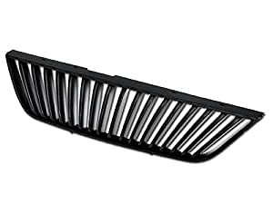 R&L Racing Matte Black Vertical Sport Front Hood Bumper Grill Grille Cover 99-04 Ford Mustang MPN: FO1200357