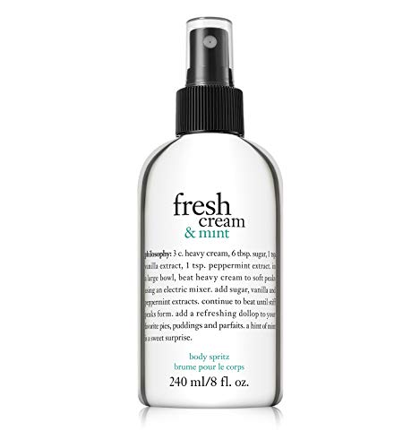 (Philosophy Fresh Cream & Mint Body Spritz with Pump 8 fl. oz)