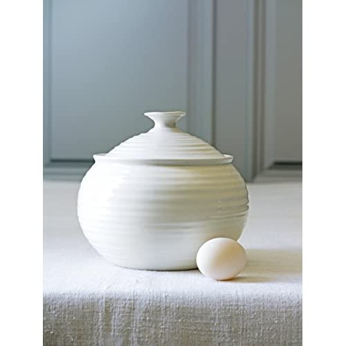 Portmeirion Sophie Conran  White Large Covered Casserole