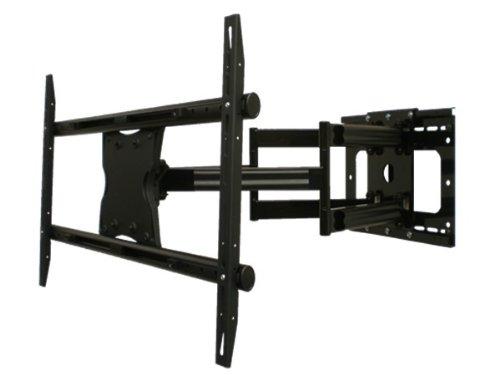 Full Motion~Dual Arm-Swiveling, Tilting, Full Extending Brac