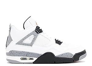 buy popular 204f0 1e856 ... Jordan Air 4 IV Retro Cements Mens Shoes White Black. upc 675911056400  product image1. upc 675911056400 product image2. upc 675911056400 product  image3
