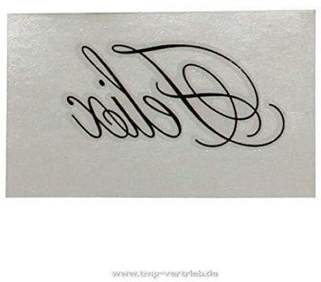 """1 x """"Felix"""" tatuaje temporal como nombre"""