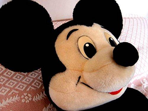 アンティーク東京ディズニーランドミッキー30年越ぬいぐるみ開園当初ヴィンテージTDLミッキーマウスLサイズの商品画像