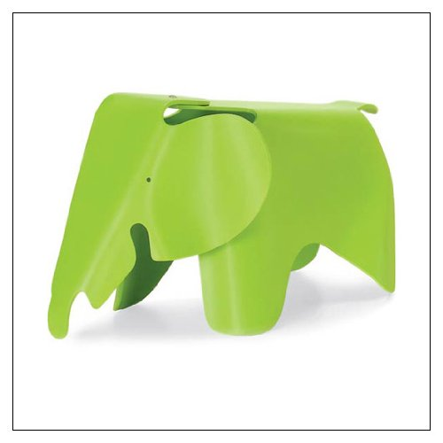 Eames® Elephant by Vitra, Color = Dark Lime by Vitra