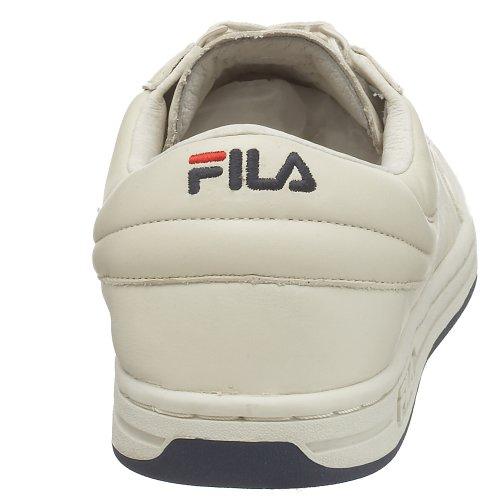 Fila Mens Originale Fitness Lea Classic Sneaker Crema / Navy-rosso