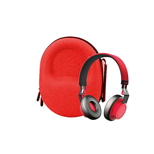 Hard Carrying case for Jabra Move Wireless Stereo Headphone (red)