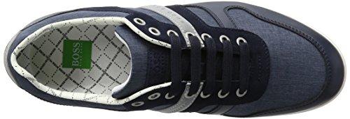 BOSS Green Arkansas_lowp_nych 10195464 01, Zapatillas para Hombre Azul (Dark Blue 401)
