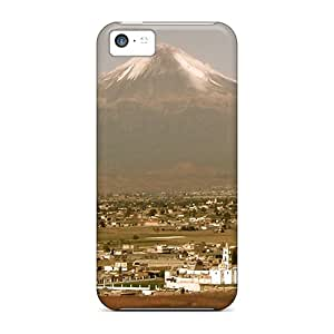 New Arrival Cases Covers With OCn56901BJcr Design For Iphone 5c- Popocatepetl Volcano
