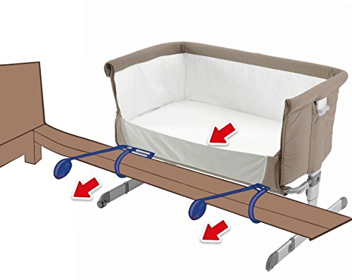 Buy Chicco Next 2 Me Co Sleeping Crib - Dove (Gray) Online at Low Prices in India - Amazon.in