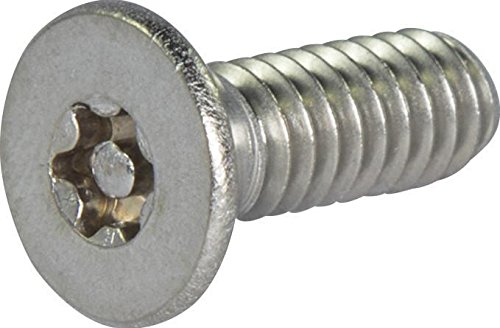 Torx Socket Head (6-32 x 1 Tamper Resistant Torx Drive Flat Head Socket Machine Screw 18-8 Stainless Steel (T-15) (20))