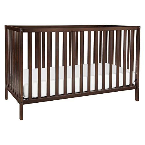 Union 2-in-1 Convertible Crib in Espresso, Greenguard Gold Certified