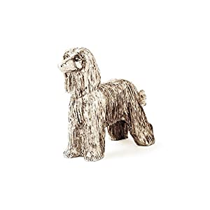 Afghan Hound Made in UK Artistic Style Dog Figurine Collection 49