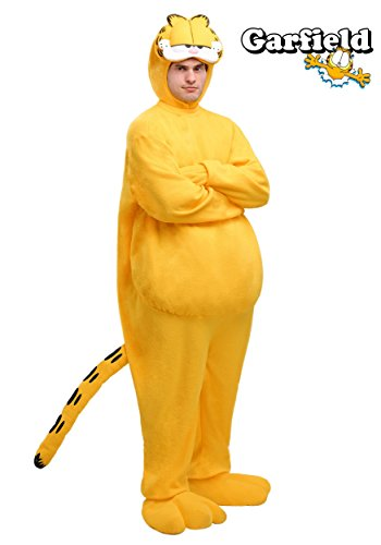 Fun Costumes Mens Plus Size Garfield Costume 2x