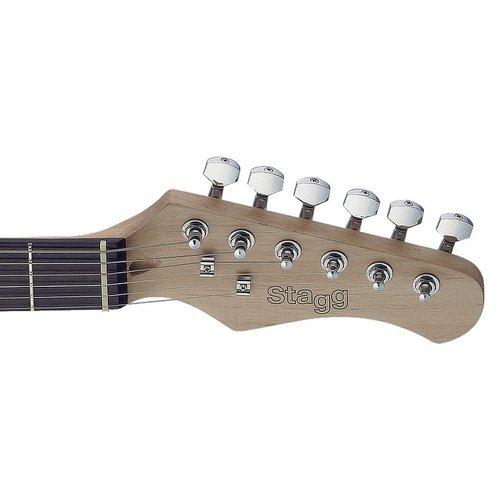 Stagg SET-CST BK Vintage Series Negro guitarra eléctrica: Amazon.es: Instrumentos musicales