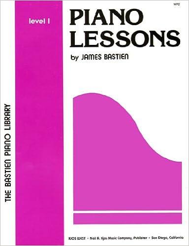 wp2 piano lessons level 1 bastien piano library