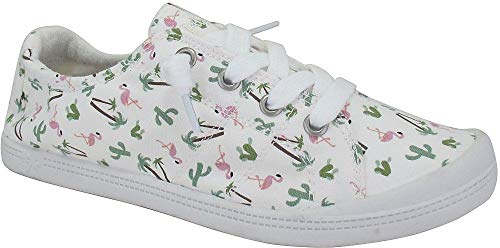 Jellypop Dallas Womens Slip On Sneakers Multi Print 7.5]()