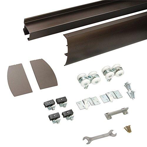 Knape & Vogt R-WM-M250A-B-8 Wall Mount Door Hardware Incl...