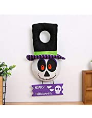 witch Pumpkin ghost hanger door knob hanging tag home bar window Market Mall festival Pendant Props Halloween Party Decorations