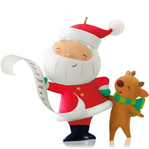 Kris Kringle Christmas - Hallmark Keepsake Ornament Kringle and Kris 1st in Series 2014