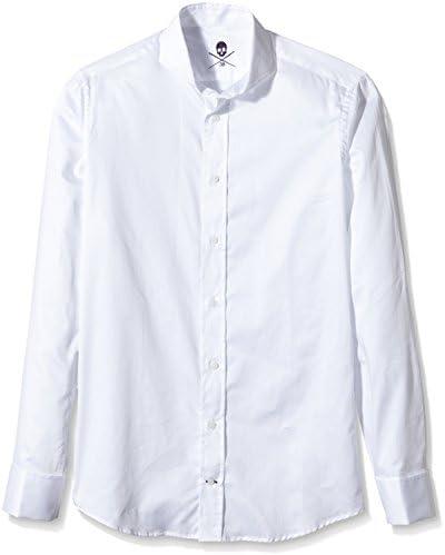 Scalpers Madrid ELISEE Shirt 03 Camisa, White, 43 para Hombre: Amazon.es: Ropa y accesorios