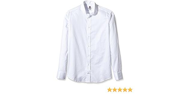 Scalpers Madrid ELISEE Shirt 03 Camisa, White, 43 para ...
