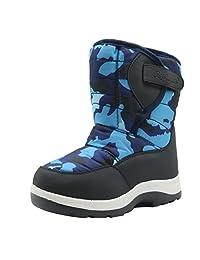 Apakowa Kids Boys Winter Snow Boots (Toddler/Little Kid)