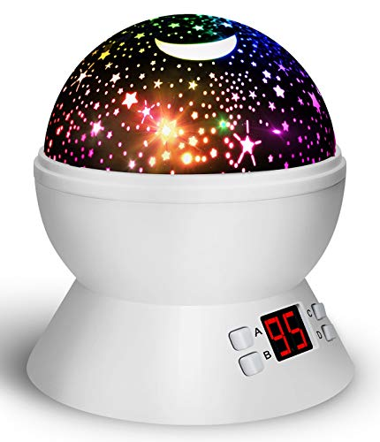 (Night Lights for Kids and Toddlers, Star Projector with Timer for Bedtime, Best Gifts for Baby Boys and Girls)