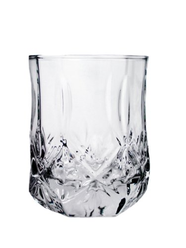 ARC International Luminarc Brighton Double Old Fashioned Glass, 9-Ounce, Set of 4