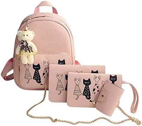 Zhao Liang Womens Backpack Sweet Lovely Cute All Match Fashion Casual Back Bag