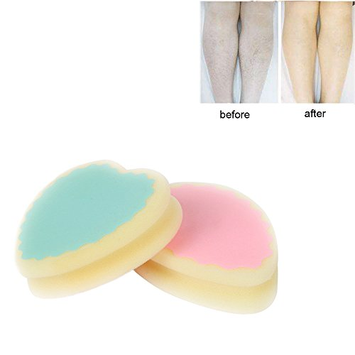 JonerytimeMagic Painless Hair Removal Depilation Sponge Pad Remove Hair Leg Arm Hair Remover -