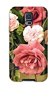 Snap-on Case Designed For Galaxy S5- Flower