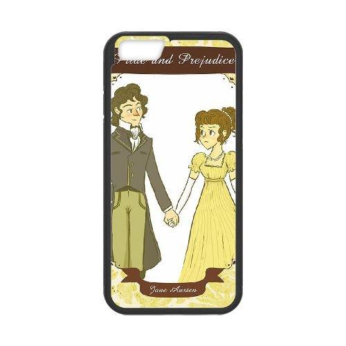 Austen Happy coque iPhone 6 4.7 Inch Housse téléphone Noir de couverture de cas coque EBDOBCKCO13240