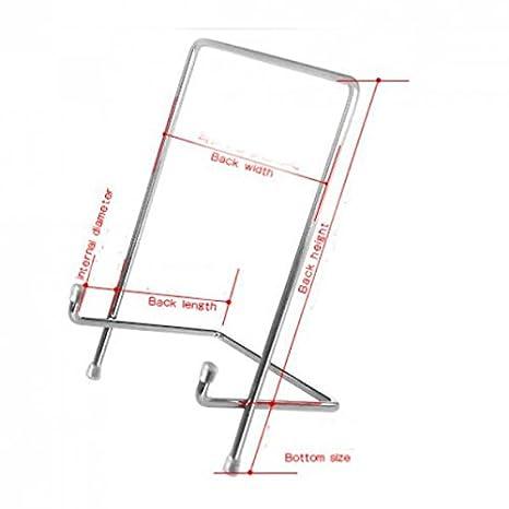 S Sharplace Chevalet Daffichage en Fer Supports Peinture Dessin Artisanal D/écor Dart Maison D/écor DOr