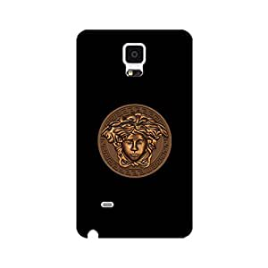 Versace Logo Phone Case Snap on Samsung Galaxy Note 4 Wonderful Nice Universal Cover Case Luxury Versace Mark Back Cover