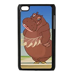 iPod Touch 4 Phone Case BLack Fantasia Hyacinth Hippo NF4156223