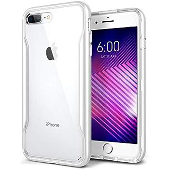 Caseology Apex Clear for iPhone 8 Plus Case (2017)   iPhone 7 Plus Case  (2016) - Slim   Transparent - White 913d9b95612