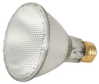 15 Pack Satco S2240 39 Watt 530 Lumens PAR30 Long Neck Halogen Narrow Flood 34 Degrees Dimmable Clear Light Bulb (50 Watt Replacement)
