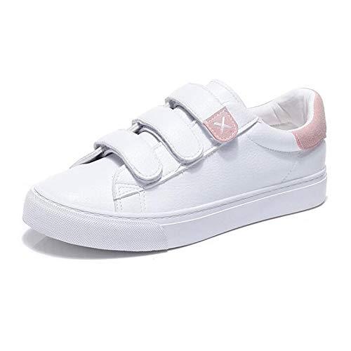 Pink ZHZNVX da Comfort Tacco basso Scarpe sintetiche Autunno PU microfibra in Sneakers donna Grigio Primavera Blu Rosa qqazRnwxr
