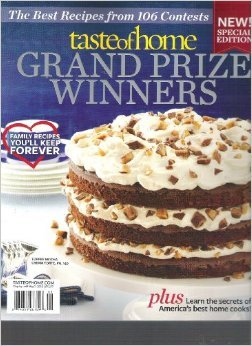 Taste of Home Grand Prize Winners Magazine (2012)