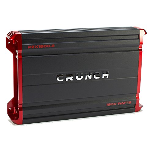 Crunch Powerzone 1800 Watt 2 Channel Car Audio Class A/B ...