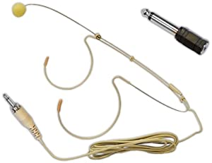 Pyle-Pro PMHM2 Omni-directional Head Worn Microphone (3.5mm / 1/4'')