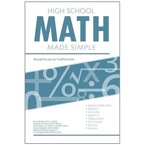 HIGH SCHOOL Math: Amazon.com