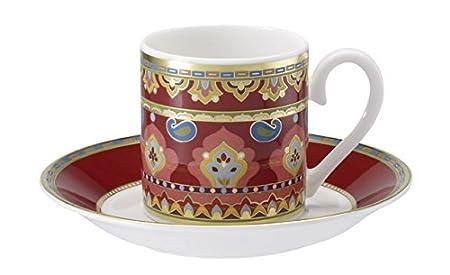 Villeroy and Boch Samarkand Juego de tazas de expresso 4 piezas Mandarin
