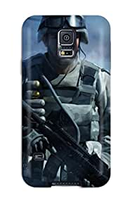 Snap-on Case Designed For Galaxy S5- Battlefield