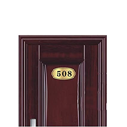 Amazon.com: LONTG Custom Door Numbers Sign Plate Acrylic ...