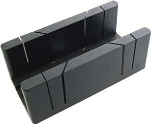 Am-Tech - Caja de ingletes   (plástico, tamaño grande)