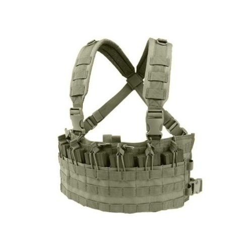 Condor Rapid Assault Chest Rig - OD Green MCR6-001 (Condor Modular Chest Rig compare prices)