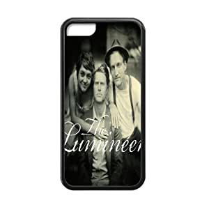 The Lumineers Cell Phone Protector for iPhone 5C Plastic and TPU (Laser Technology)