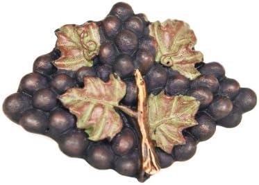 Set Of 2 Kitchen Cabinet Knobs Pulls Grape Decor With Tuscan Purple Grapes Tuscany Door Amazon Com